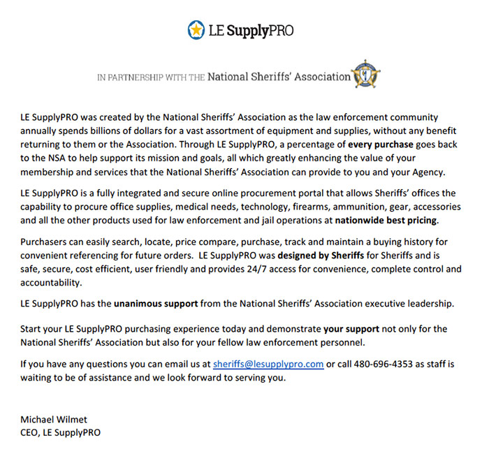 Ceo Letter Le Supplypro